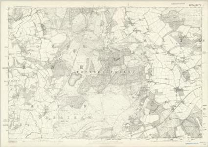Hampshire & Isle of Wight XLIV - OS Six-Inch Map