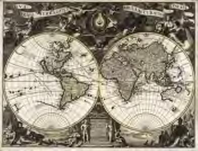 Mappe-Monde ou description generale du globe terrestre et aquatique