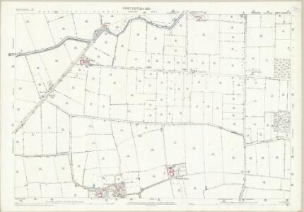 Yorkshire CCXXIII.10 (includes: Eastrington; Gilberdyke; Spaldington) - 25 Inch Map
