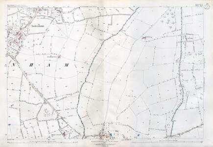 Warwickshire LVI.8 (includes: Great Wolford; Little Wolford; Todenham) - 25 Inch Map