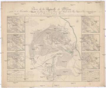 Plan de la Bataille de Torgau