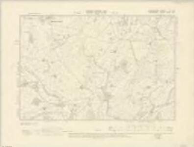 Radnorshire V.SE - OS Six-Inch Map