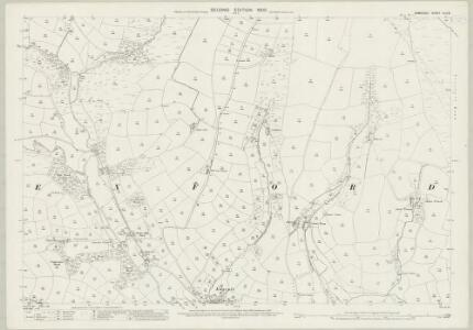 Somerset XLV.8 (includes: Exford) - 25 Inch Map