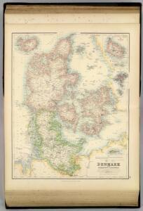 Denmark with Schleswig & Holstein.