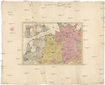 Mappa geographica summo labore, accurate et novissime exarata, exhibens circulos aliquot Germaniae, praesertim illos ubi bellum nunc geritur