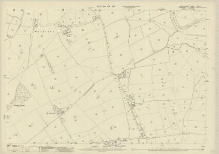Denbighshire XXII.14 (includes: Allington; Farndon; Holt) - 25 Inch Map