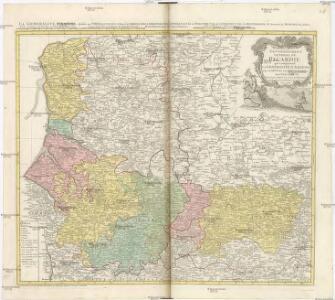 Carte du GOVVERNEMENT GENERAL DE PICARDIE