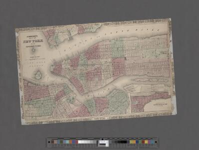 Johnson's Map of NYC.