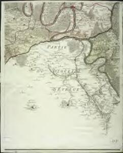 Carte particuliere du diocese de Rouen, 5