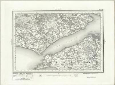 Lymington (Outline) - OS One-Inch Revised New Series