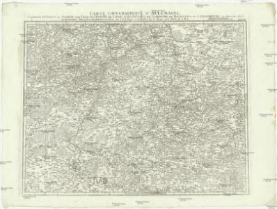 Carte topographique d'Allemagne