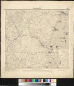 Meßtischblatt 3652 : Rappoltsweiler, 1886