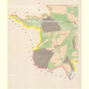 Welhartitz (Welhartice) - c8371-1-003 - Kaiserpflichtexemplar der Landkarten des stabilen Katasters