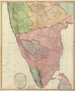 Composite: India peninsula.