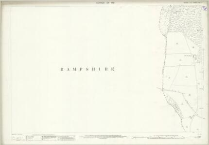 Sussex XX.7 (includes: Petersfield; Steep) - 25 Inch Map