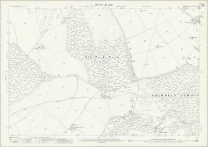 Hampshire and Isle of Wight XLII.15 (includes: Bishops Sutton; Bramdean; Cheriton; Ropley; West Tisted) - 25 Inch Map
