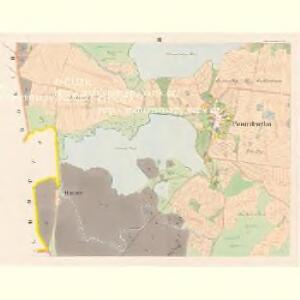 Poniedražko - c6007-1-003 - Kaiserpflichtexemplar der Landkarten des stabilen Katasters