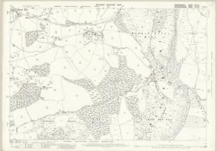 Herefordshire XLII.6 (includes: Berrow; Bromsberrow; Castlemorton; Eastnor) - 25 Inch Map
