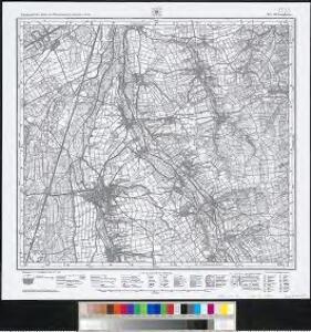 Meßtischblatt [7725] : Laupheim, 1915