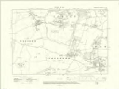 Berkshire IX.NE - OS Six-Inch Map