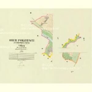 Ober Porzitsch (Horo Porzitsch) - c2124-1-002 - Kaiserpflichtexemplar der Landkarten des stabilen Katasters