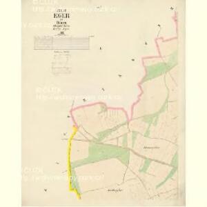 Eger - c2481-1-002 - Kaiserpflichtexemplar der Landkarten des stabilen Katasters