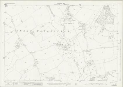 Essex (New Series 1913-) n XVI.11 (includes: Great Maplestead; Little Maplestead) - 25 Inch Map