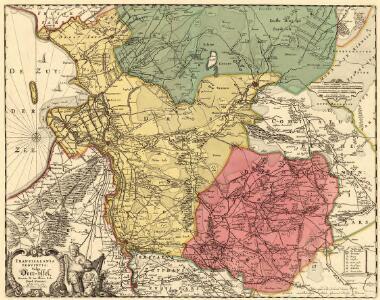 Transisalania Provincia; Vulgo Over-yssel