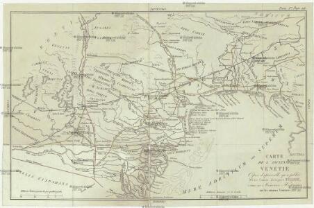 Carte de l'ancienne Venetie