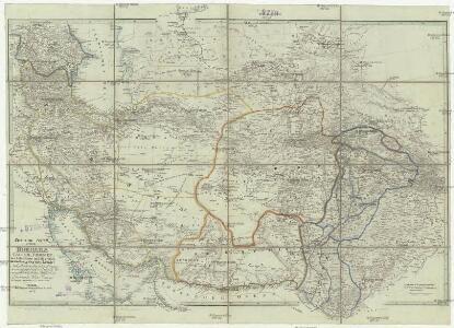 Central-Asien nemlich Bokhara, Cabool, Persien, der Indus Strom und die oestlich des selben gelegenen Laender