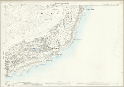 Hampshire and Isle of Wight XCIX.13 (includes: Sandown Shanklin; Ventnor) - 25 Inch Map