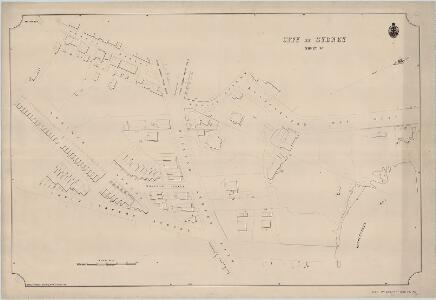 City of Sydney, Sheet W, 1885