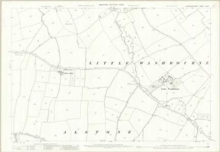 Gloucestershire XIII.9 (includes: Alderton; Beckford; Dumbleton; Teddington) - 25 Inch Map