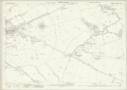 Berkshire VIII.10 (includes: Great Faringdon; Hatford; Shellingford; Stanford in The Vale) - 25 Inch Map