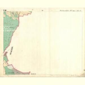 Chodenschloss - c7957-1-008 - Kaiserpflichtexemplar der Landkarten des stabilen Katasters