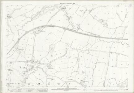 Wiltshire LXIX.1 (includes: Semley; West Tisbury) - 25 Inch Map
