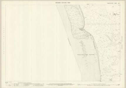 Pembrokeshire XLII.1 (includes: Castlemartin) - 25 Inch Map