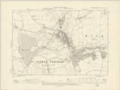 Worcestershire XLI.SE - OS Six-Inch Map