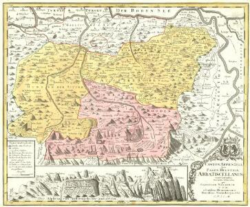 Canton Appenzell sive Pagus Helvetiae Abbatiscellanum cum Confinibus recenter delineatus