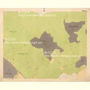 Glöckelberg - c9317-3-004 - Kaiserpflichtexemplar der Landkarten des stabilen Katasters