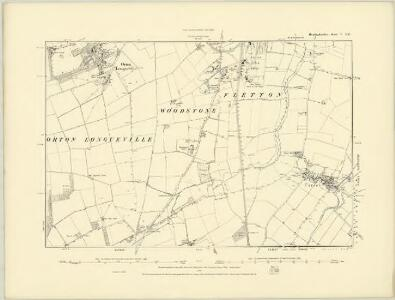 Huntingdonshire V.NW - OS Six-Inch Map