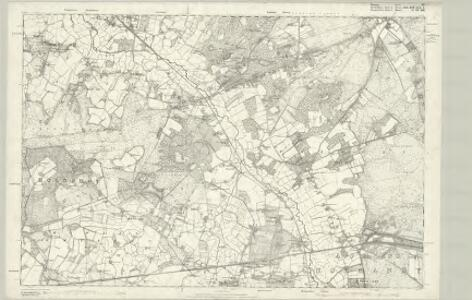 Surrey XV - OS Six-Inch Map