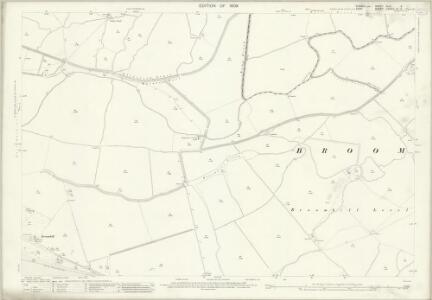 Sussex XLVI.9 (includes: Broomhill; East Guldeford; Ivychurch) - 25 Inch Map