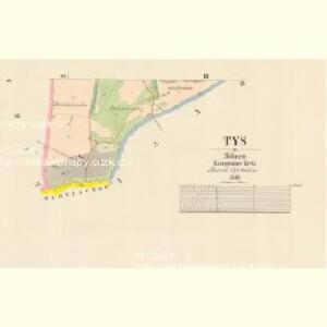 Tys - c7907-1-002 - Kaiserpflichtexemplar der Landkarten des stabilen Katasters