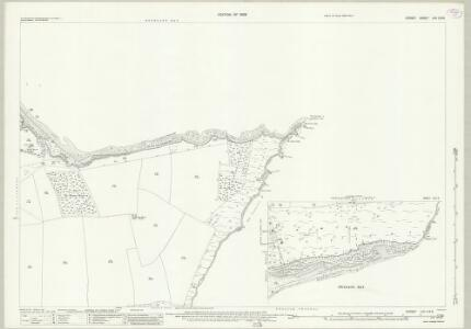 Dorset LVII.2 & 6 (includes: Studland; Swanage) - 25 Inch Map