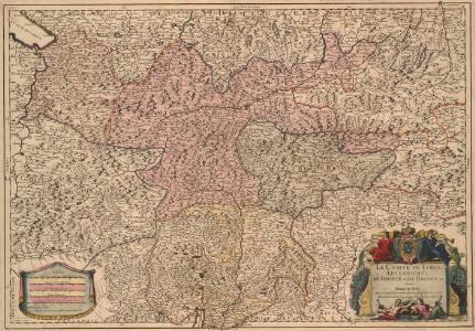 Le Comte de Tirol Les Evechés de Trente et de Brixen, &c