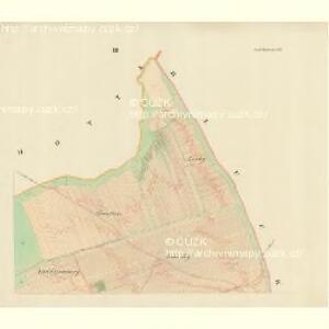 Gross Blatnitz - m0108-1-003 - Kaiserpflichtexemplar der Landkarten des stabilen Katasters