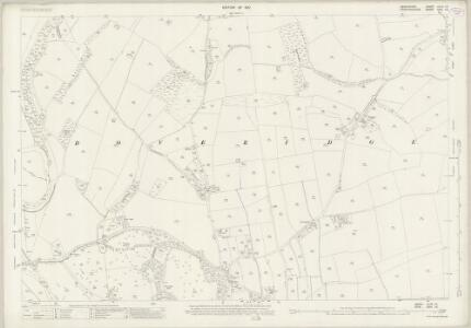 Derbyshire XLVII.15 (includes: Doveridge; Somersal Herbert; Uttoxeter) - 25 Inch Map