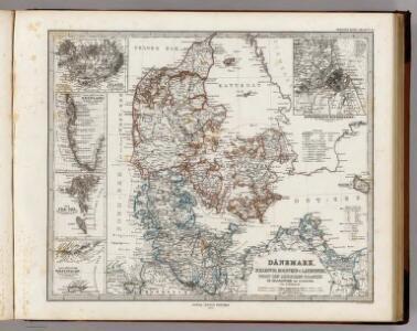 Danemark, Schleswig, Holstein u. Lauenburg, Nebst Den Danischen Colonie'n.