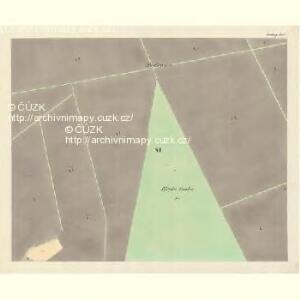 Göding (Hodonin) - m0741-1-010 - Kaiserpflichtexemplar der Landkarten des stabilen Katasters